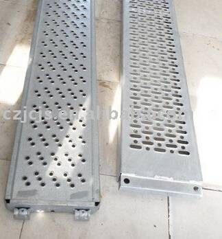 OEM steel plank scaffolding system and steel plank scaffold accessories
