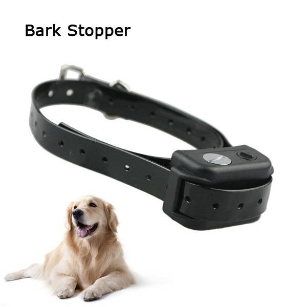 Waterproof No bark collar with Adjustable strap and static Shock Strength PET851