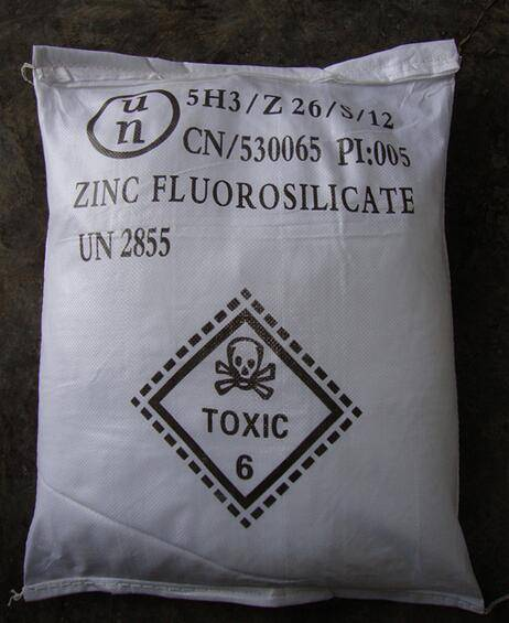 Zinc Fluorosilicate for electrolysis bath for zinc