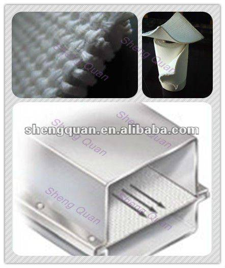 Shengquan air slide belt 100% polyester in bulk cement/canvas conveyor belt/airslide canvas