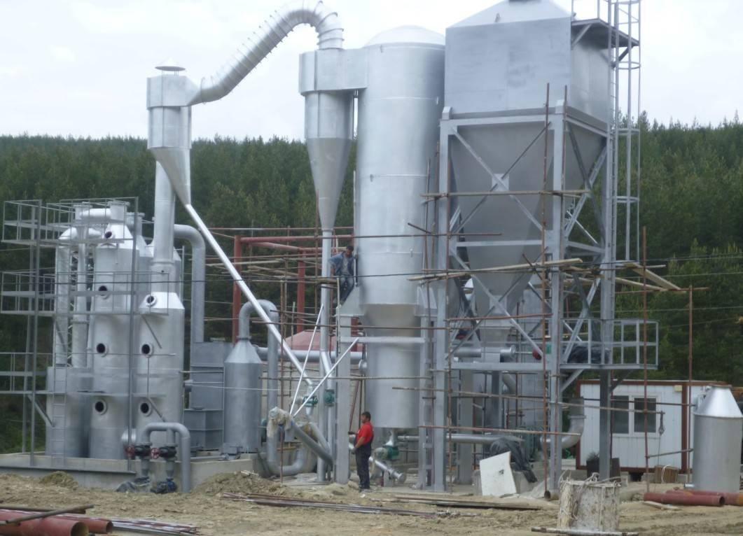 Biomass Power Generation 300KW Gasifier Generator Equipment