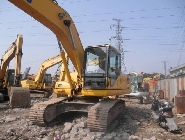 Used Komatsu pc200-7 Crawler Excavator Original from Japan