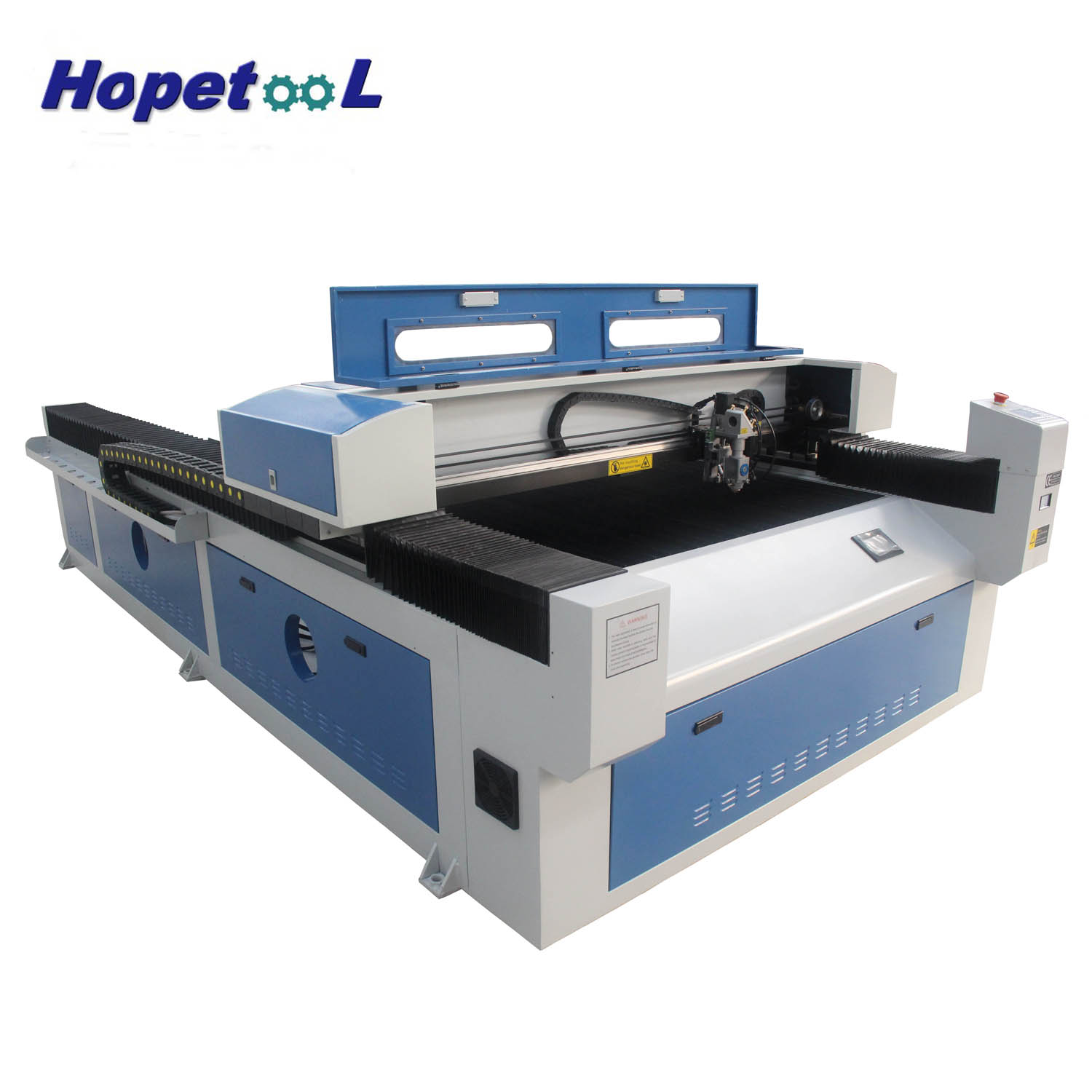 Can be customized two heads metal mixed 1325 laser cutting machine