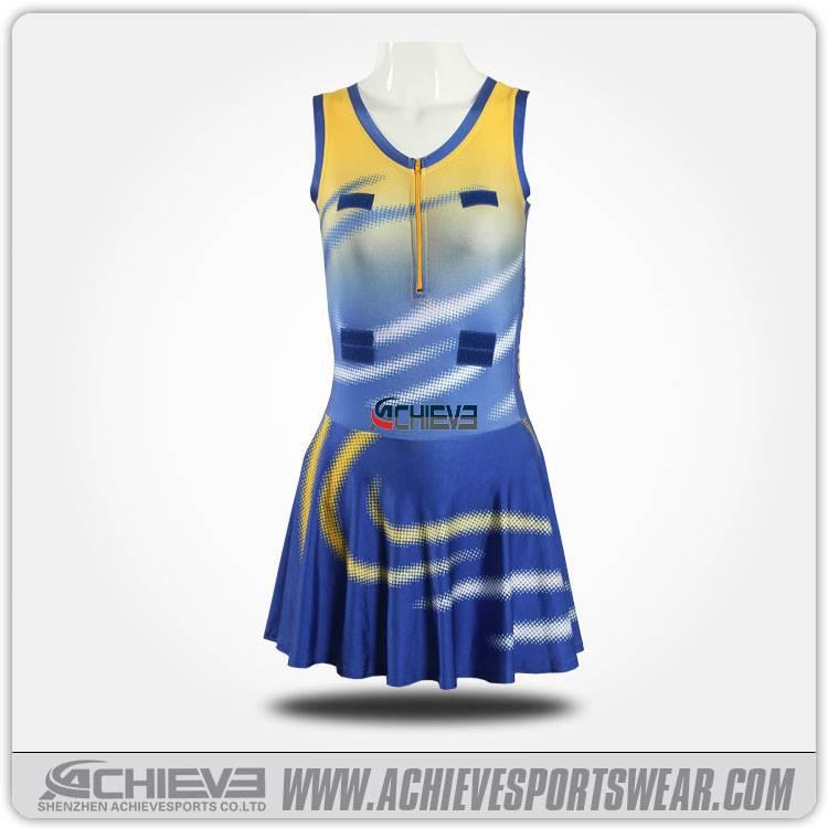 2016 new style girl sexy netball dress