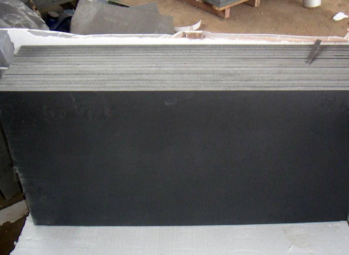Lava Black Basalt Tile