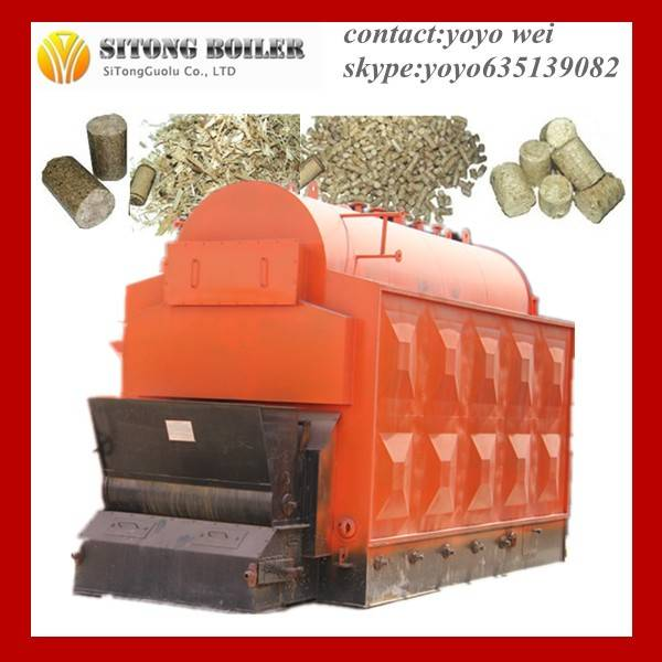 greenhouse biomass hot water boiler