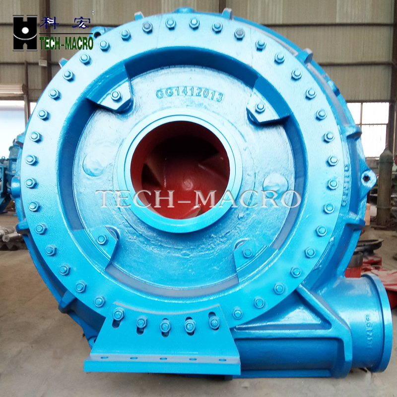 Centrifugal mud slurry pumps series G(H)for dredging river course