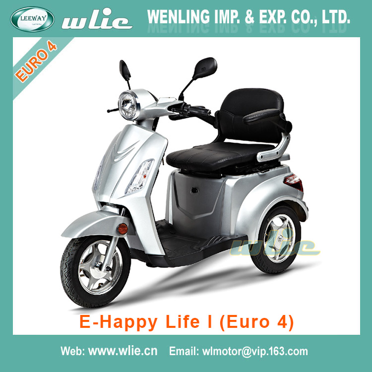 With Euro 4 EEC 800w electric Scooter E-Happy Life (Euro 4)