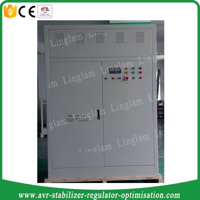 voltage stabilizer 500 kva