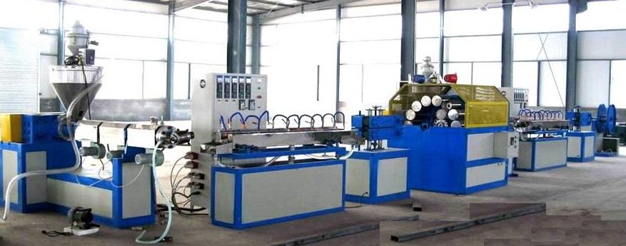Plastic Pipe Extrusion Line -PVC Fiber Enhancing Hose Extrusion Line