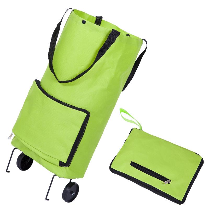 Promotion Gift Bag Foldable Supermarket Folding Shopping Trolley Bag