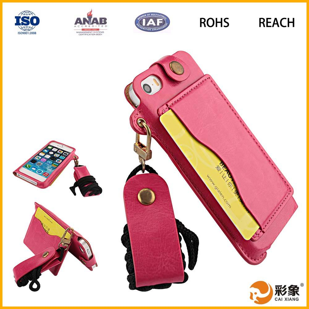 High Quality Alibaba China Leather Universal Flip Phone Case