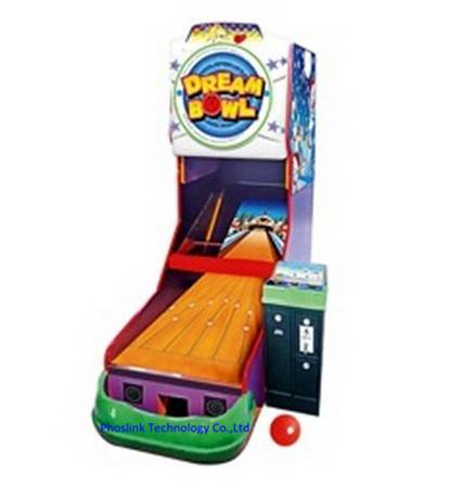Hot Selling Coin Operated Dream Bowl Amusement  Game Machine PTC-R58A