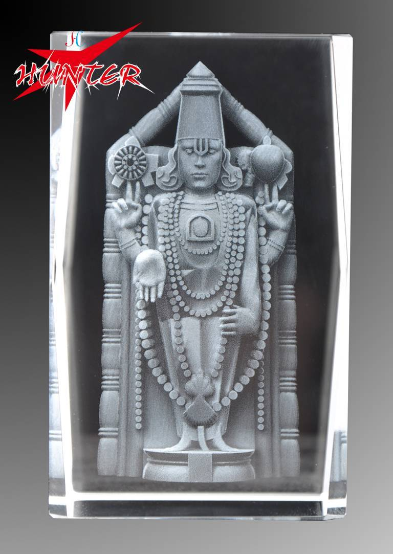 K9 Marterial Mysterious Egyptian Pharaoh 3D Laser Crystal