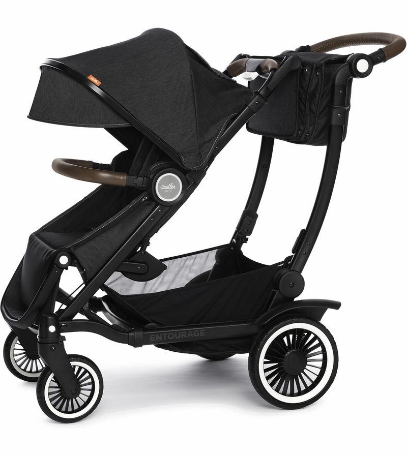 ustlen Entourage Expandable Stroller - Black