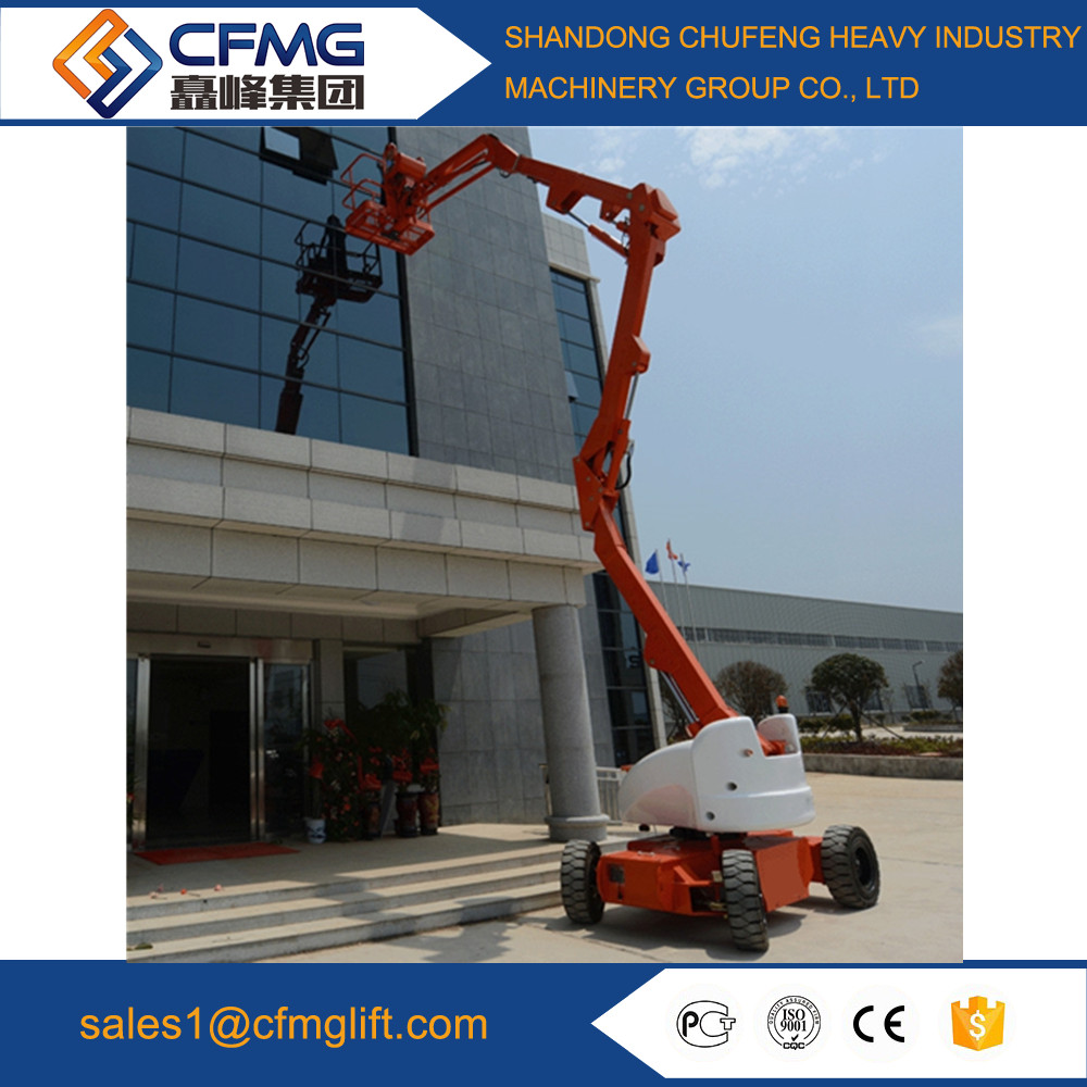 16m self-propelled articulating hydraulic mobile boom lift