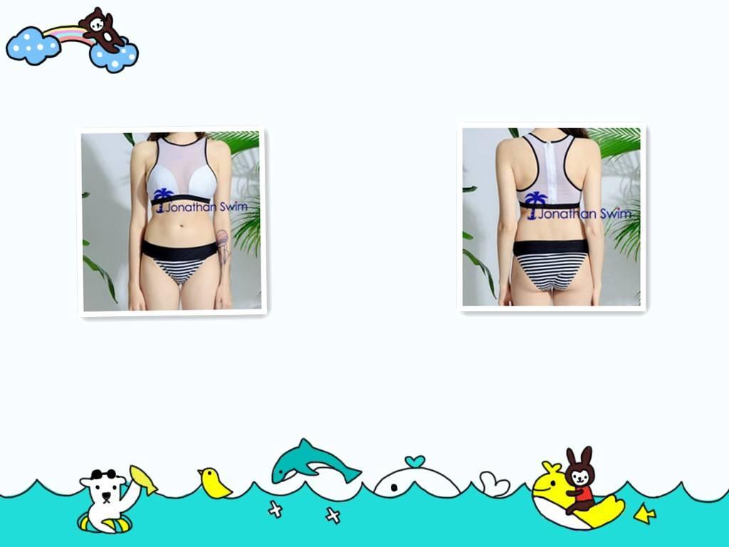 2017 Girl's sexy mesh sports bikini swimsuits.