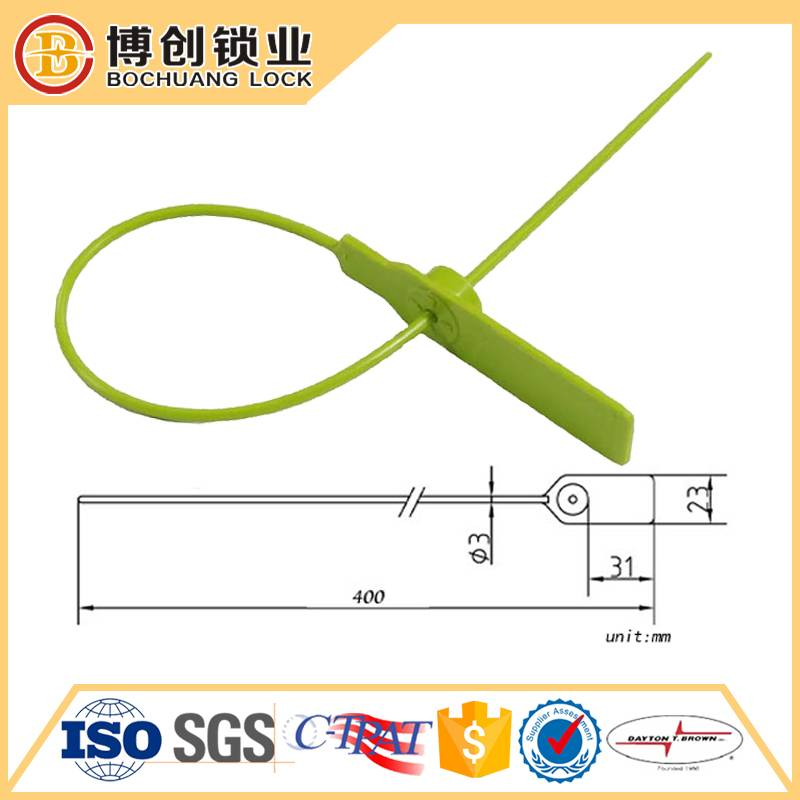 High security plastic seal