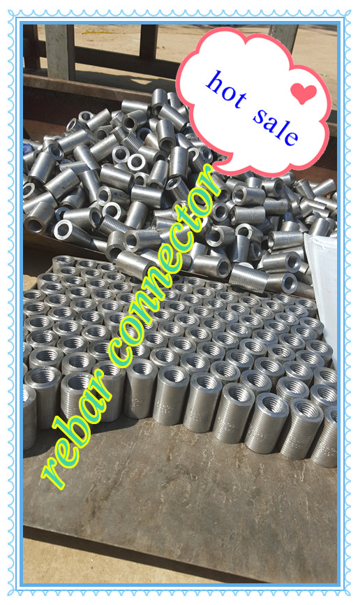 rebar coupler made by thread rolling machine