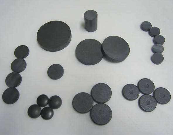 Sintered Square or Ring Round Disc Ferrite Magnets Y35