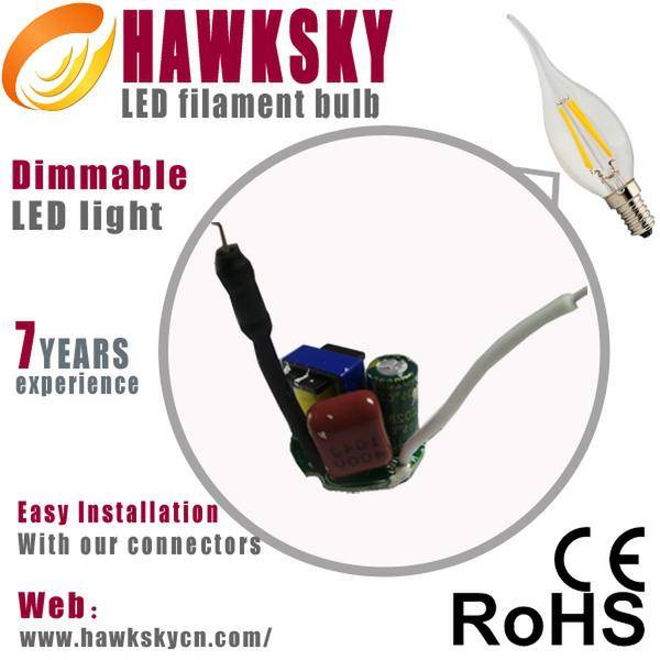 2014 New design 360 degree led filament lamp