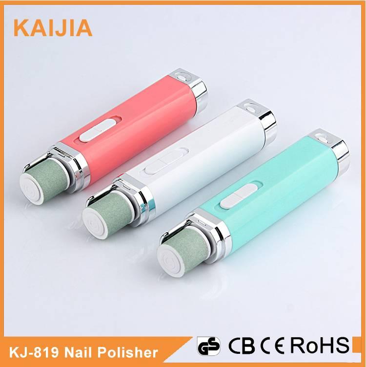 Battery eletric nail polisher
