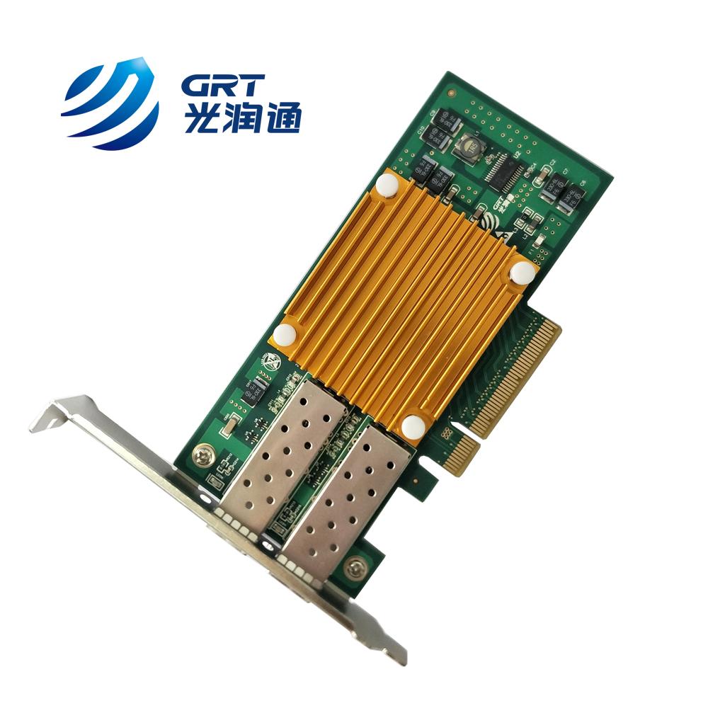 F1002E 10Gb Intel 82599ES Dual-port Fiber Optic Bypass Adapter Network Card