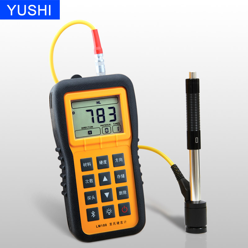 hardness meter portable digital metal hardness tester meter with blue tooth