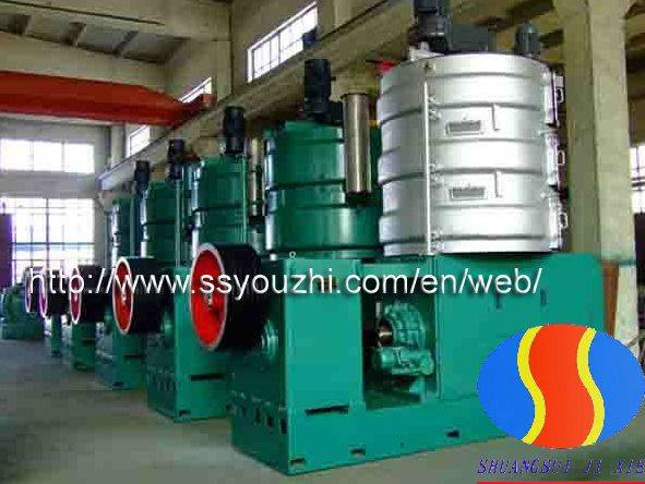 Continuous Screw Type Wheat Germ Oil Press Machine