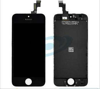 Black Original LCD Replacement Digitizer Assembly for iPhone 5S LCD