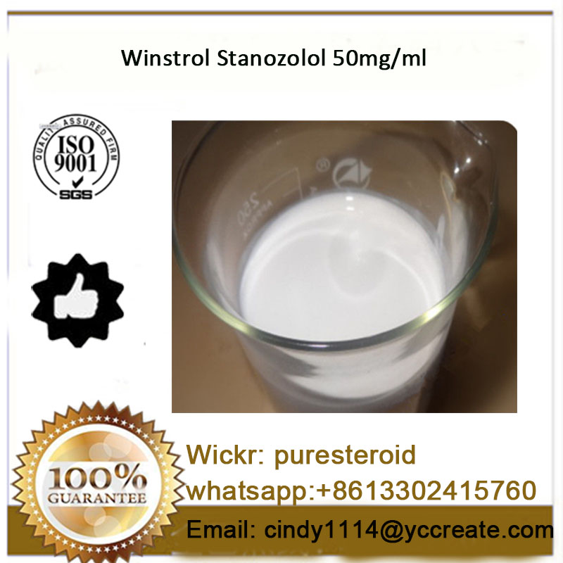 Water Based Winstrol 50 mg/ml Semi-finished Anabolic Steroids Injection Stanozolol