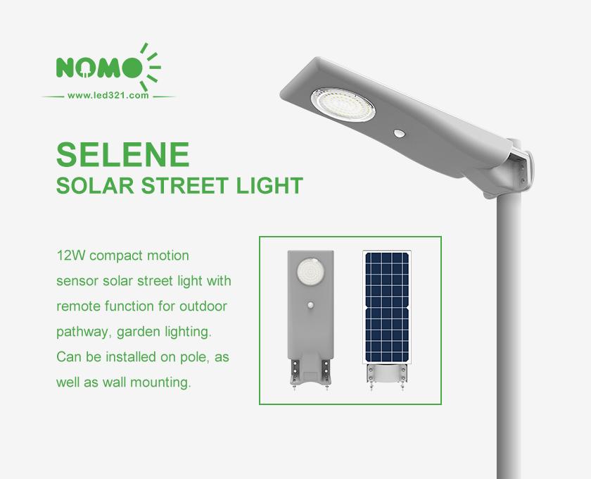 Nomo selene solar street light