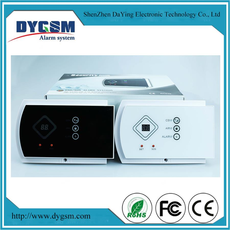 Hot-Selling English/ Spanish/ Italian/ Russian/French Gsm Mms Wireles Security Alarm System