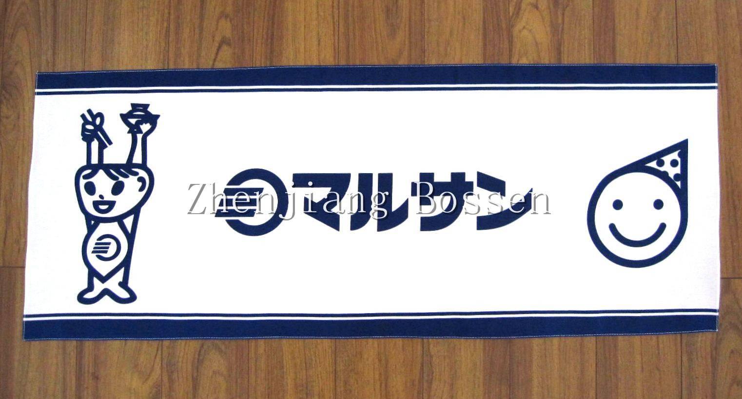 Custom made 100% cotton printing tenugui long bandana