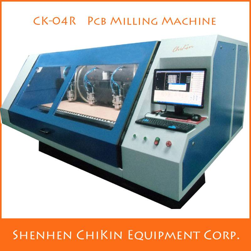 Hot Sale CK-04R 4 Axes CNC Milling Automation Machine For PCB making machine China