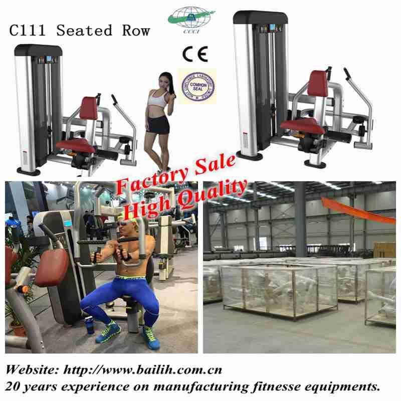 Bailih Gym Equipment C Series/2016 New Arrival Strength Line,C111 Seated Row Machine