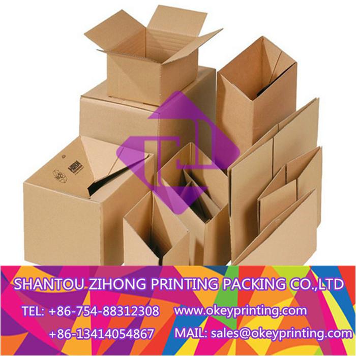printing kraft shipping carton