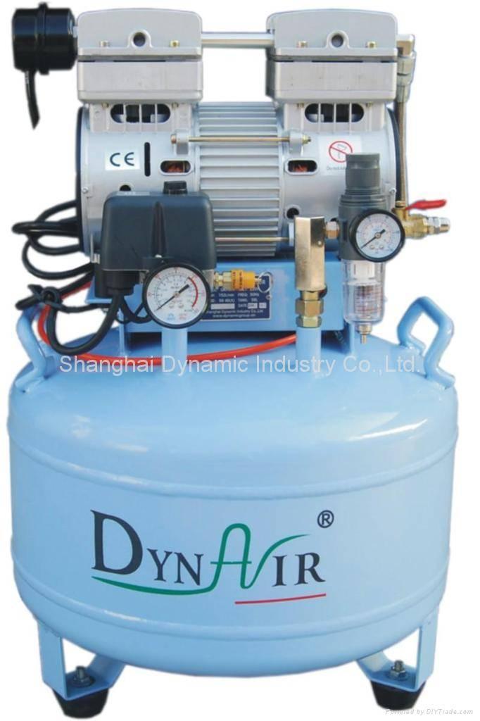 silent oilless air compressorDA -7001