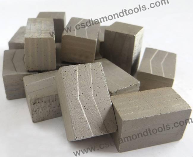 customizable granite diamond segment stone cutting blade accessory diamond blade tips