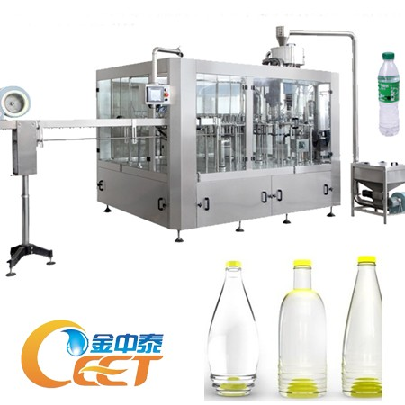 Automatic Bottle Rinsing Filling Capping Machine 8000BPH