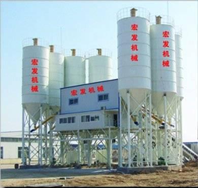 HLS120 Concrete Mixing Plant