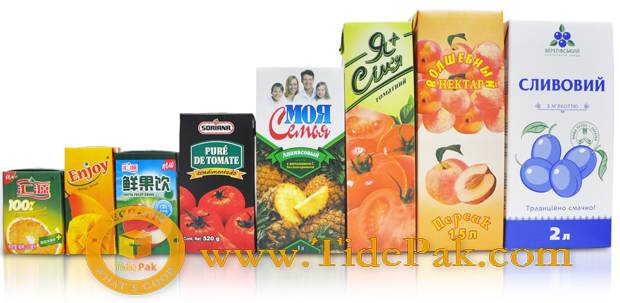 Aseptic Laminated Packaging Paper 200ml