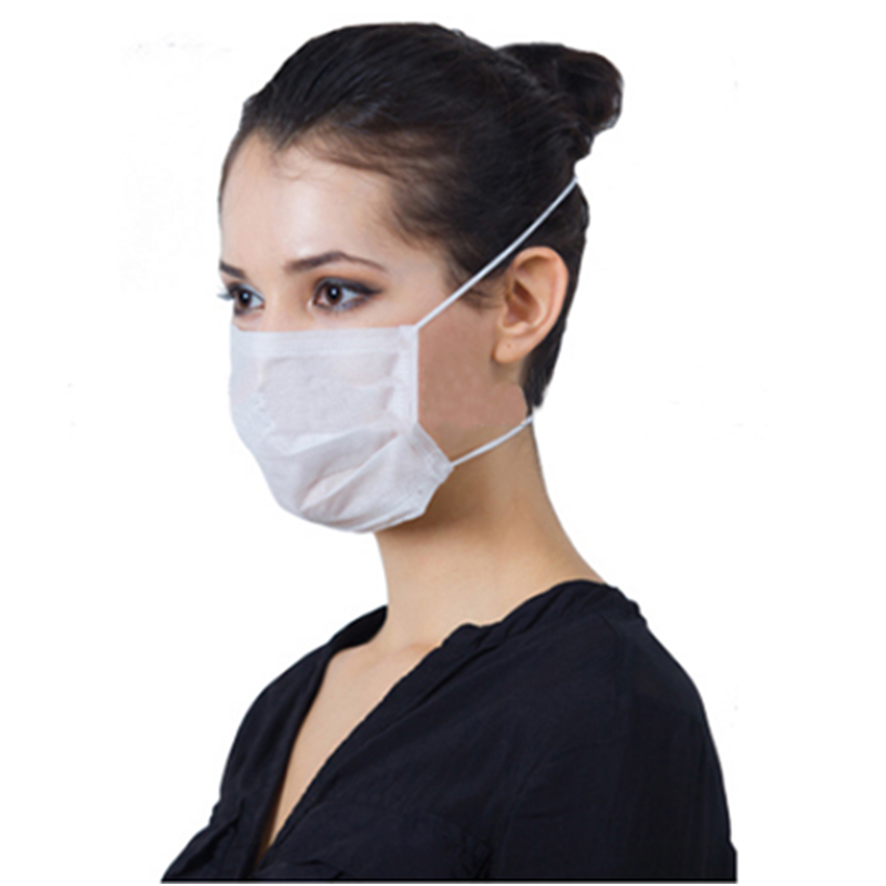 Manufacturer 3ply disposable Non-woven Face Mask with high quality