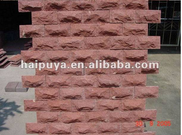 cheapest Red sandstone for wall  decoration