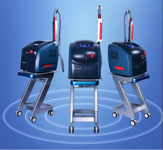 Portable Q-Switched Picosecond Laser Tattoo Removal Machine