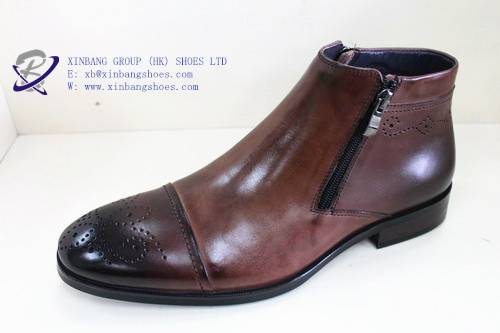 dress leather boots