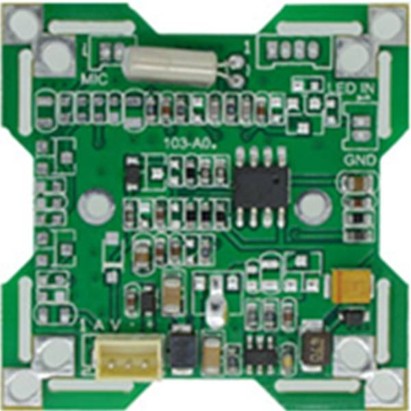 1/4 CMOS BYD-3003U 480TVL cctv camera board