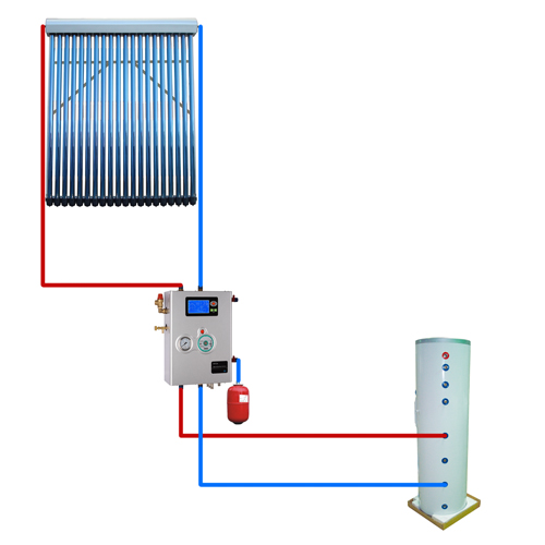 Split Pressurized Solar Water System