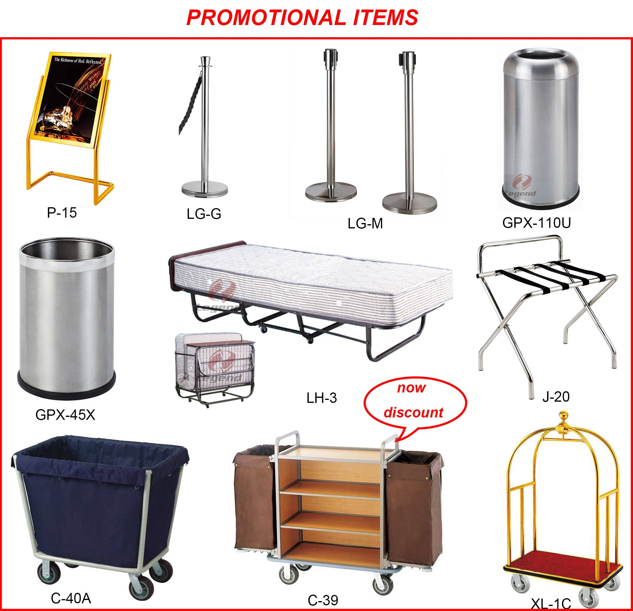 Promotional Hotel products with discount