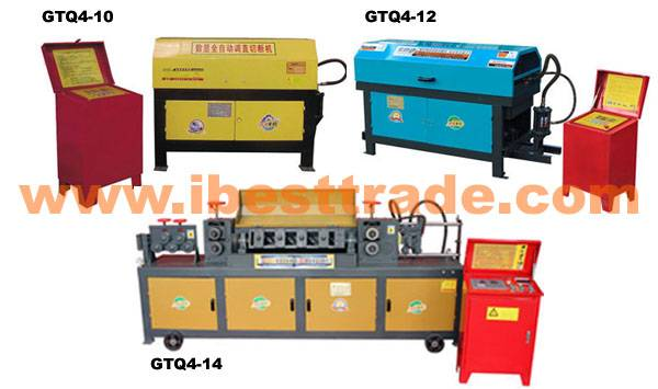 Automatic Steel Bar Straightening And Cutting Machine